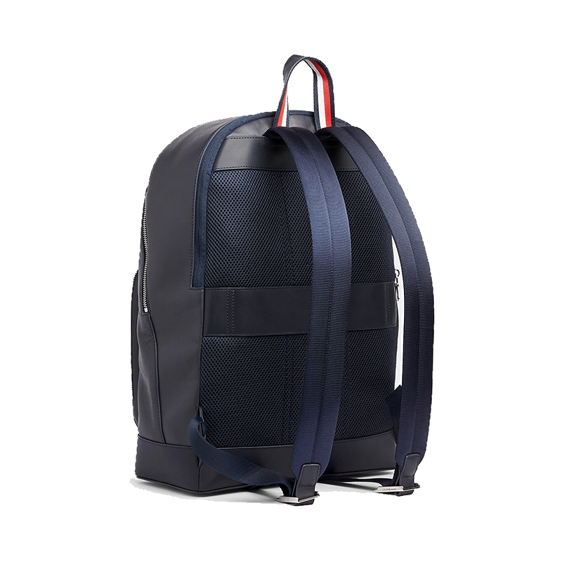 Tommy Hilfiger Leather Backpack Stripe Sky Captain-175340