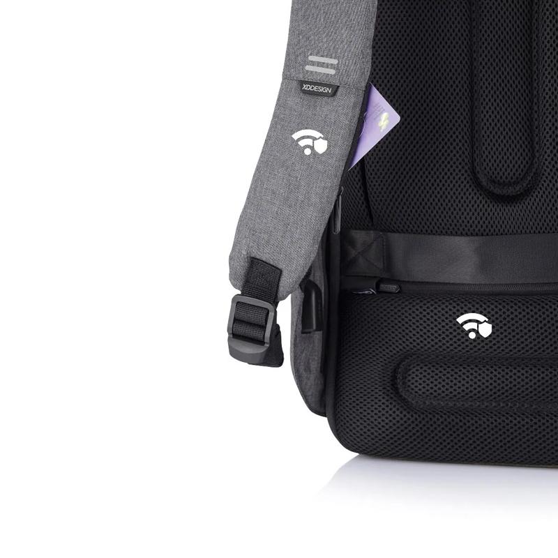 XD Design Bobby Hero Small Anti-theft Backpack Grey-175216