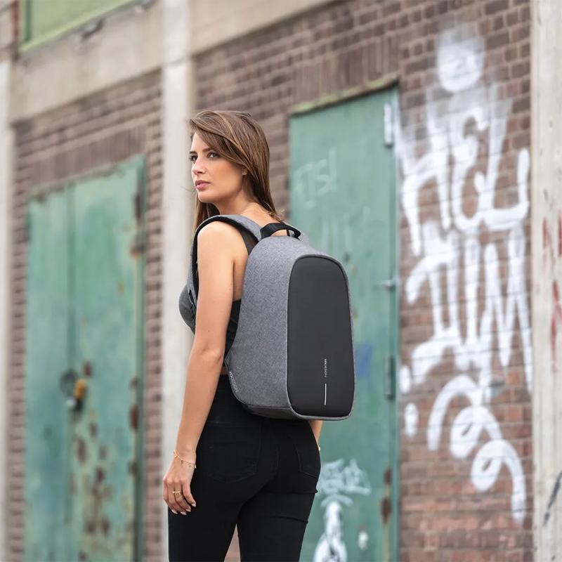 XD Design Bobby Hero Small Anti-theft Backpack Grey-175218