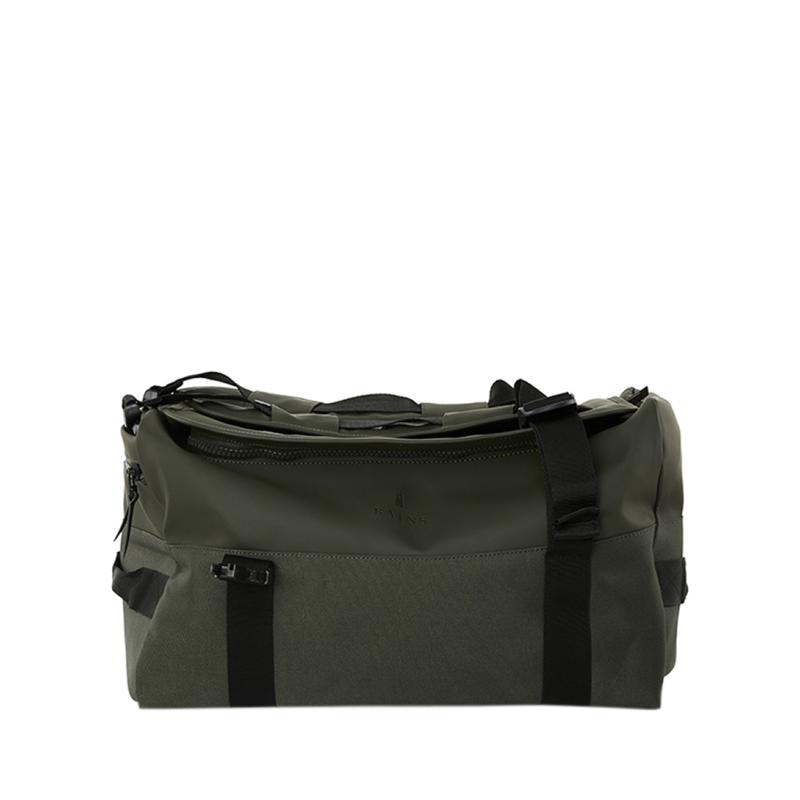 RAINS Duffel Backpack Green-0