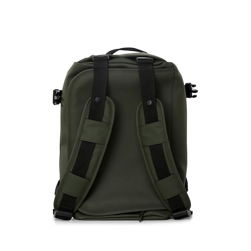 RAINS Duffel Backpack Green-175567