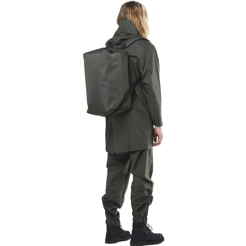 RAINS Duffel Backpack Green-175566