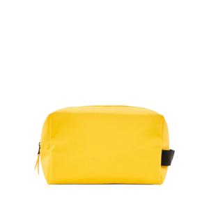 RAINS Wash Bag Large Yellow