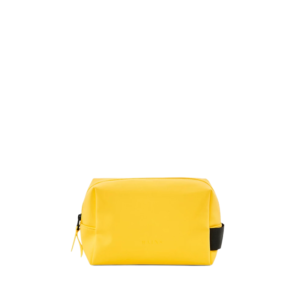 RAINS Wash Bag Small Yellow