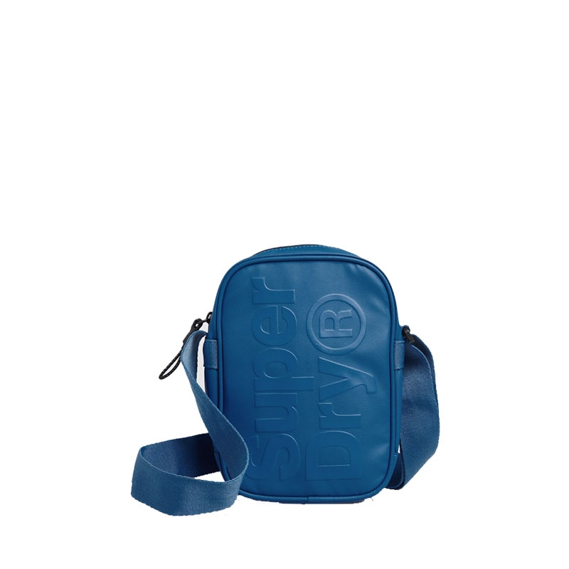 Superdry Side Crossbody Bag True Blue-0