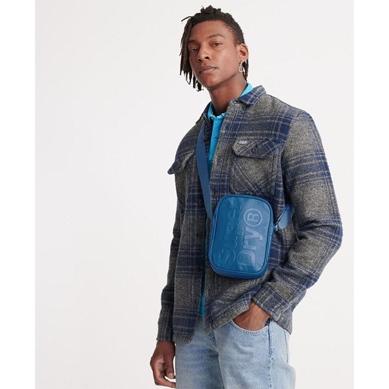 Superdry Side Crossbody Bag True Blue-179069