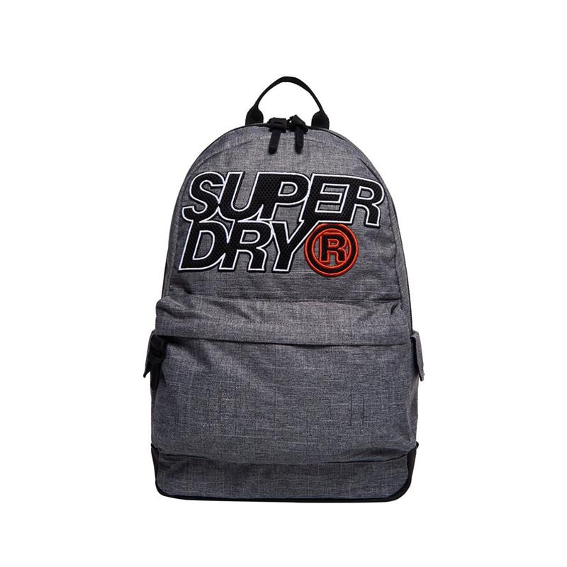Superdry Montana Mesh Lineman Backpack Light Grey-0