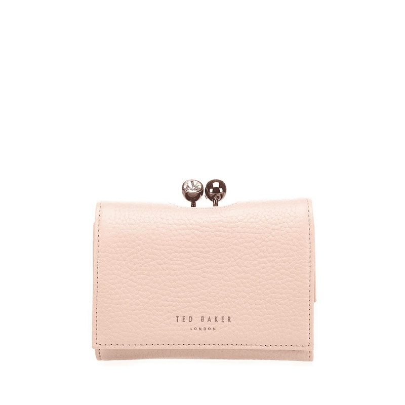 Ted Baker Crystal Mini Bobble Purse Taupe-0