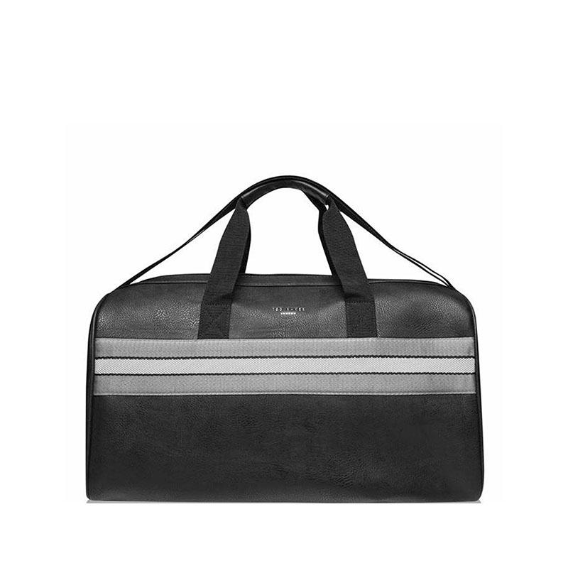Ted Baker Empress Striped Weekendbag Black-0