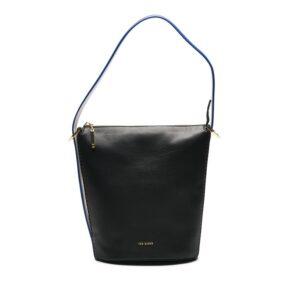 Ted Baker Endora Chain Zip Bucket Bag Black-0