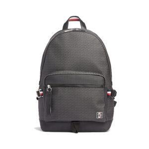 Tommy Hilfiger Coated Canvas Backpack Black Monogram-0