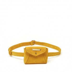 Fabienne Chapot Cindy Mini Purse Belt Sunflower Yellow-0