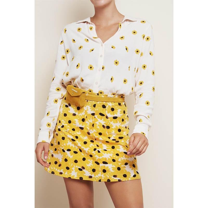 Fabienne Chapot Cindy Mini Purse Belt Sunflower Yellow-176078