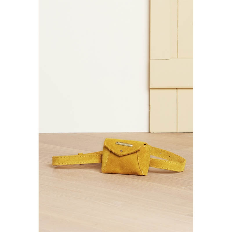 Fabienne Chapot Cindy Mini Purse Belt Sunflower Yellow-176079