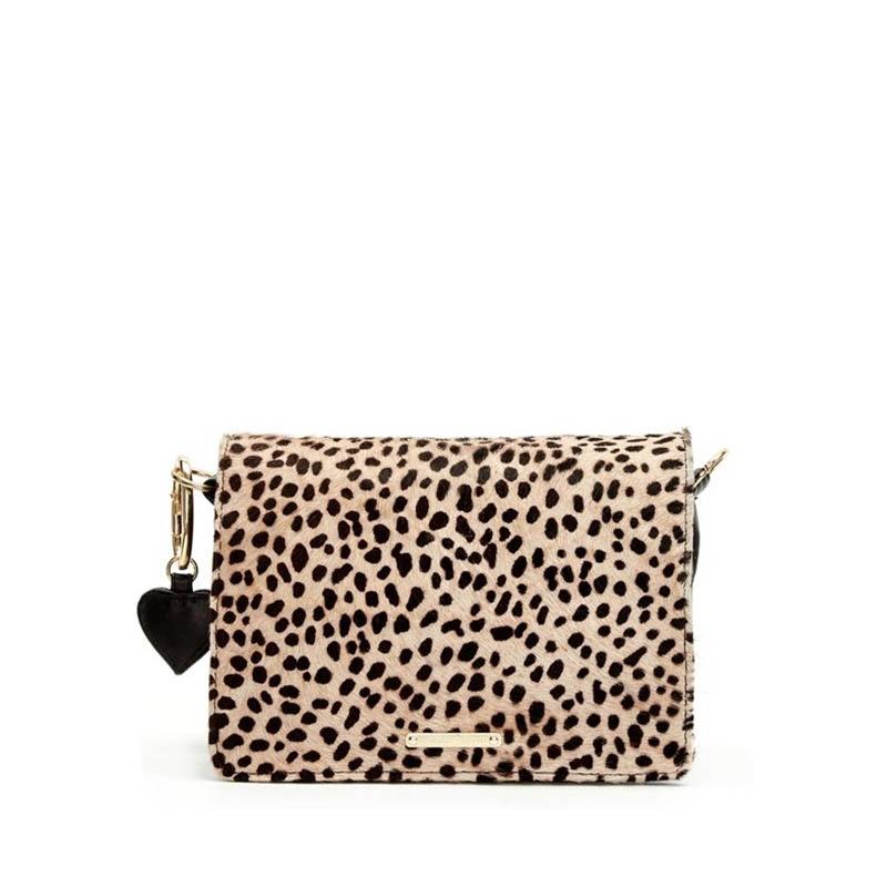 Fabienne Chapot Felice Bag S Black & Leopard-0