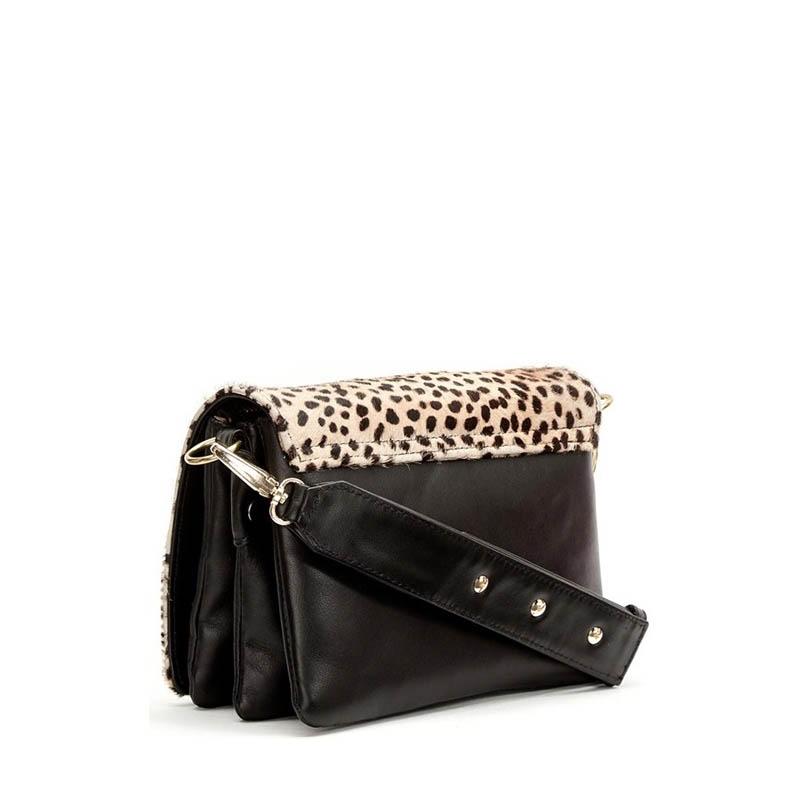 Fabienne Chapot Felice Bag S Black & Leopard-176050