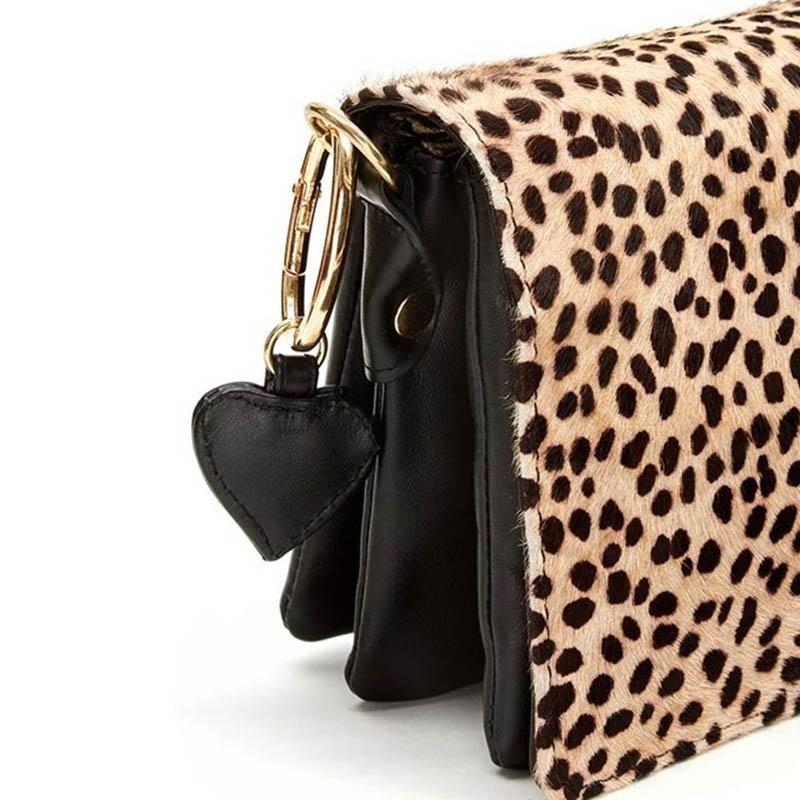 Fabienne Chapot Felice Bag S Black & Leopard-176052