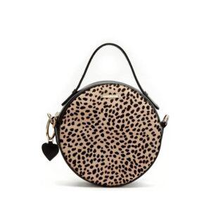 Fabienne Chapot Roundy Bag Black & Leopard-0