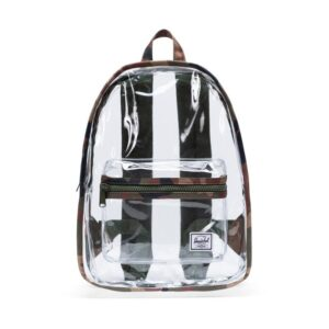 Herschel Clear Backpack Classic Mid-Volume Woodland Camo/Clear-0