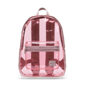 Herschel Clear Backpack Classic Mid-Volume Ash Rose-0