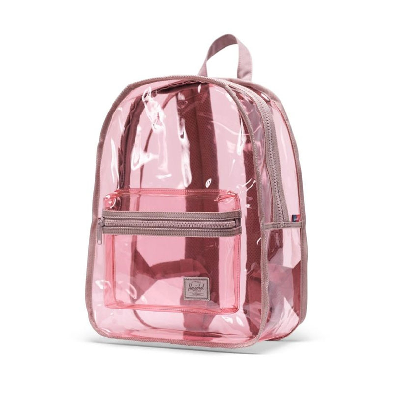 Herschel Clear Backpack Classic Mid-Volume Ash Rose-177693