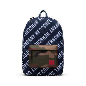 Herschel Heritage Backpack Peacoat/Woodland Camo-0