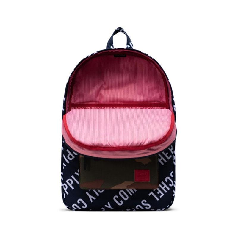 Herschel Heritage Backpack Peacoat/Woodland Camo-177423