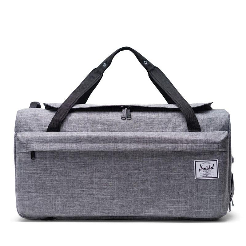 Herschel Outfitter 70L Travelbag Raven Crosshatch-0