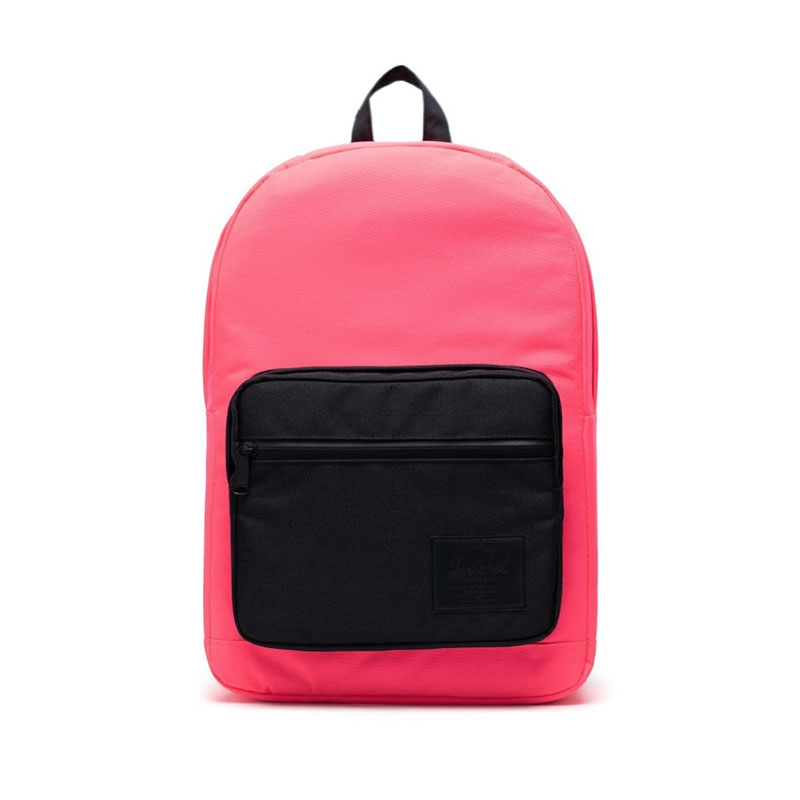 Herschel Pop Quiz Neon Pink/Black-0