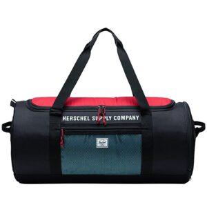 Herschel Sutton Carryall Black/Red/Bachelor Button