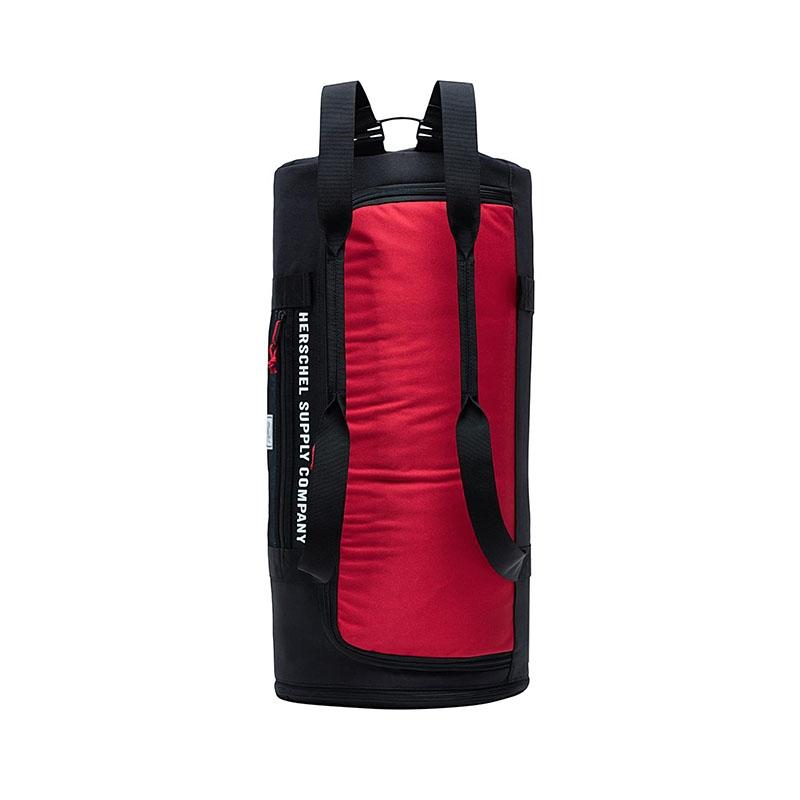 Herschel Sutton Carryall Black/Red/Bachelor Button-177864