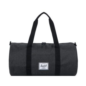 Herschel Sutton Mid Volume Dufflel Black Crosshatch/Black-0