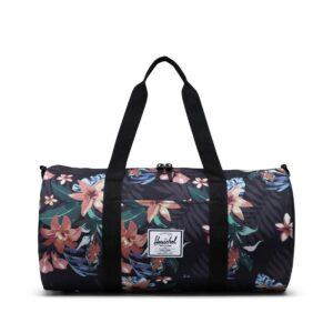 Herschel Sutton Mid Volume Dufflel Summer Floral Black-0