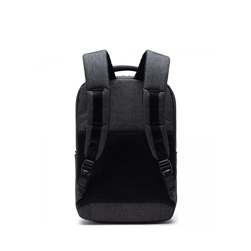 Herschel Travel Daypack Black Crosshatch-177843
