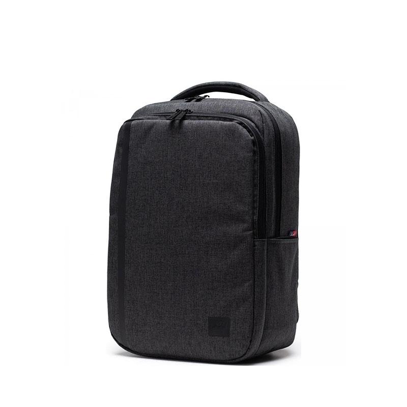 Herschel Travel Daypack Black Crosshatch-177842