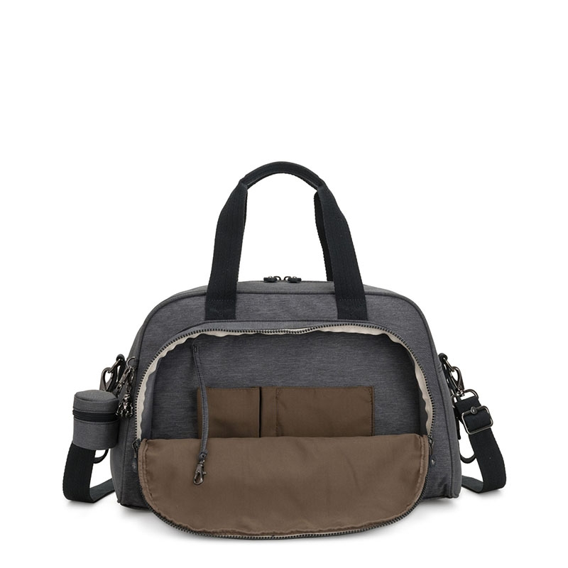 Kipling Camama Baby Bag Charcoal-179733