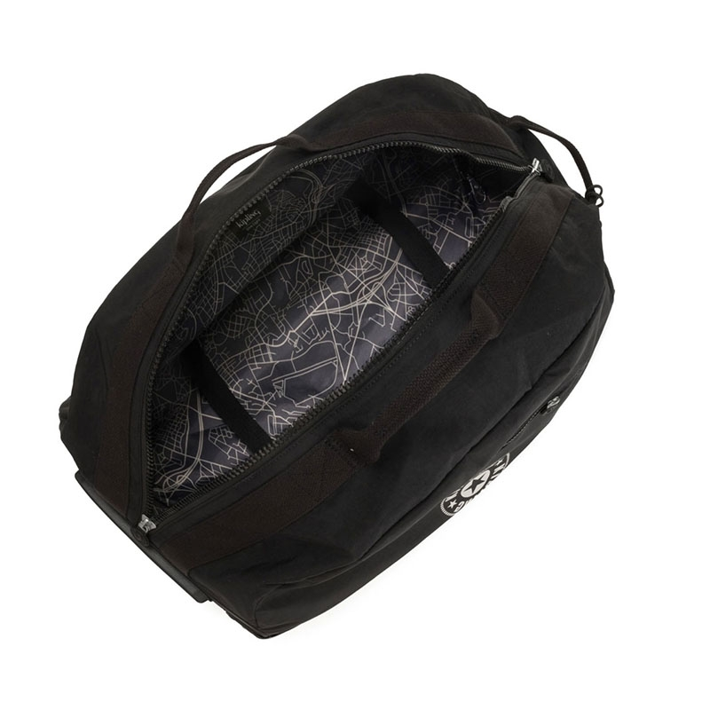 Kipling Devin On Wheels Travelbag Lively Black-179679