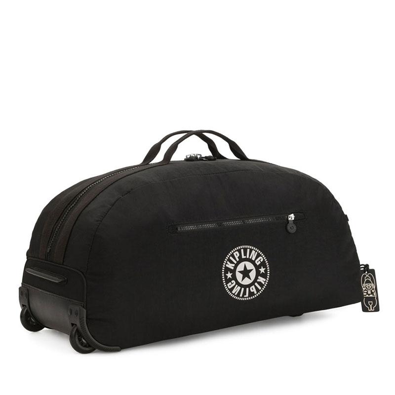 Kipling Devin On Wheels Travelbag Lively Black-179680