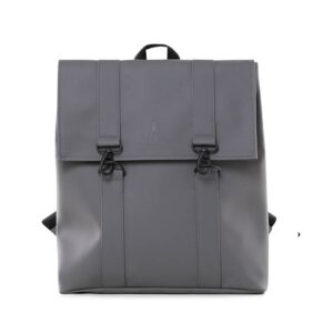 RAINS Msn Bag Charcoal-0