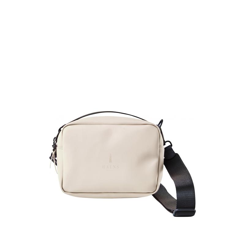 RAINS Box Bag Beige-0