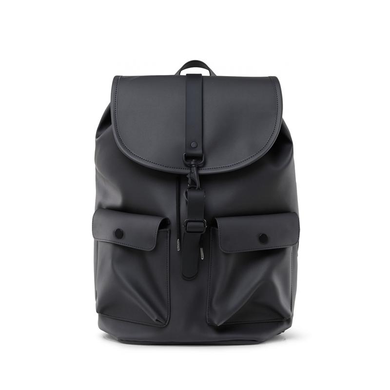 RAINS Camp Backpack Charcoal-0