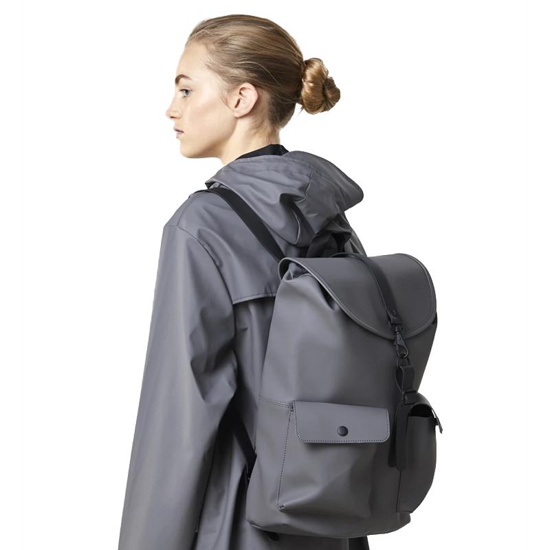 RAINS Camp Backpack Charcoal-176358