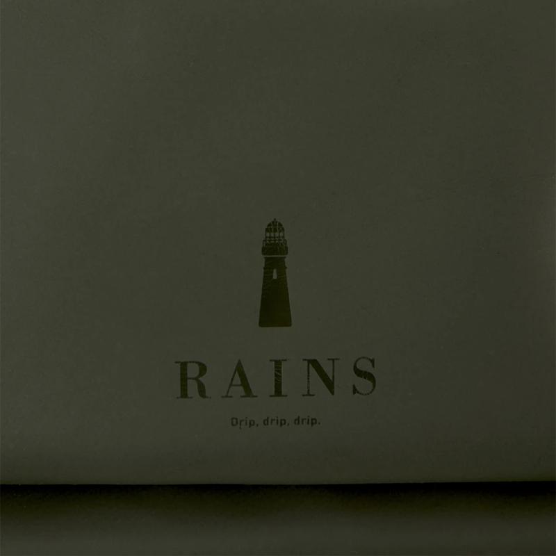 RAINS Original Waist Bag Green-176922