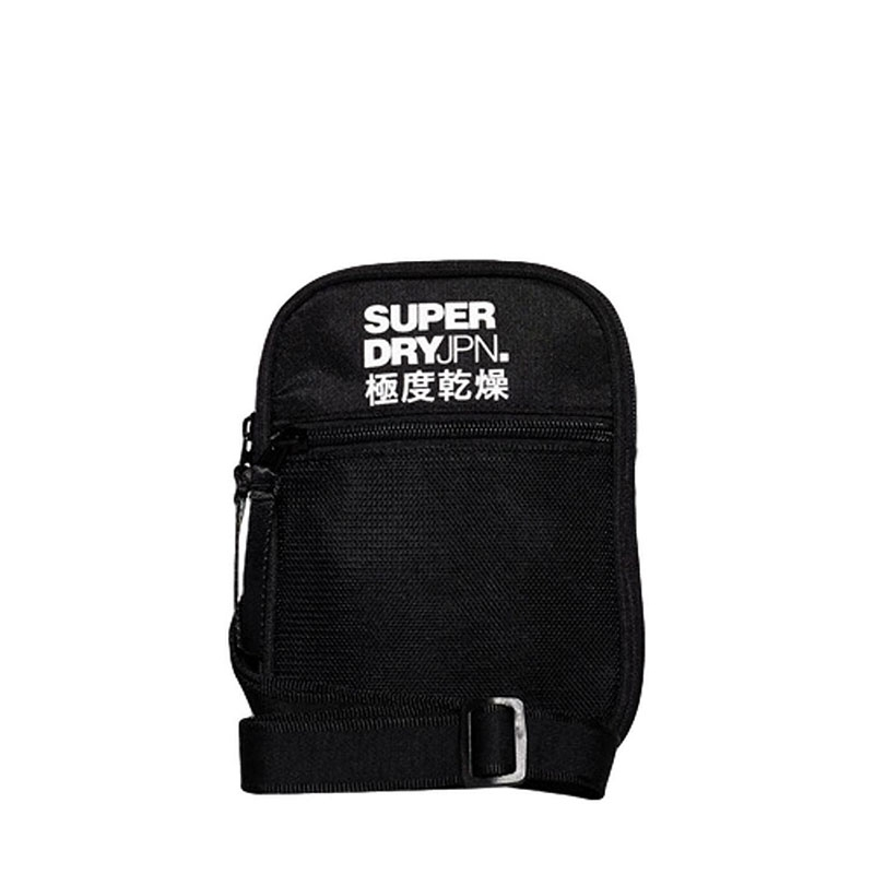 Superdry Sports Pouch Bag Black-0
