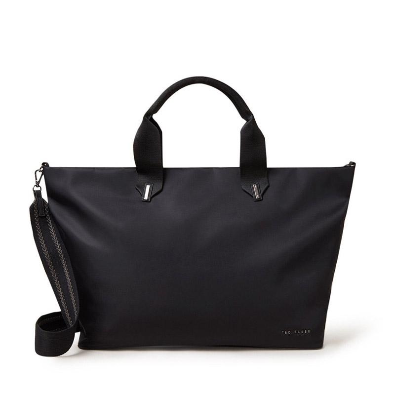 Ted Baker Mabele Large Nylon Tote Bag Black-0