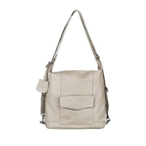 Burkely Just Jackie Backpack 2-Way Light Grey