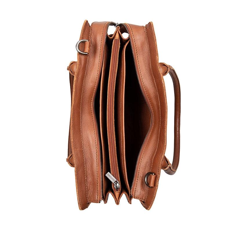 """Cowboysbag Nora Laptopbag 13"""" Tan-178350"""