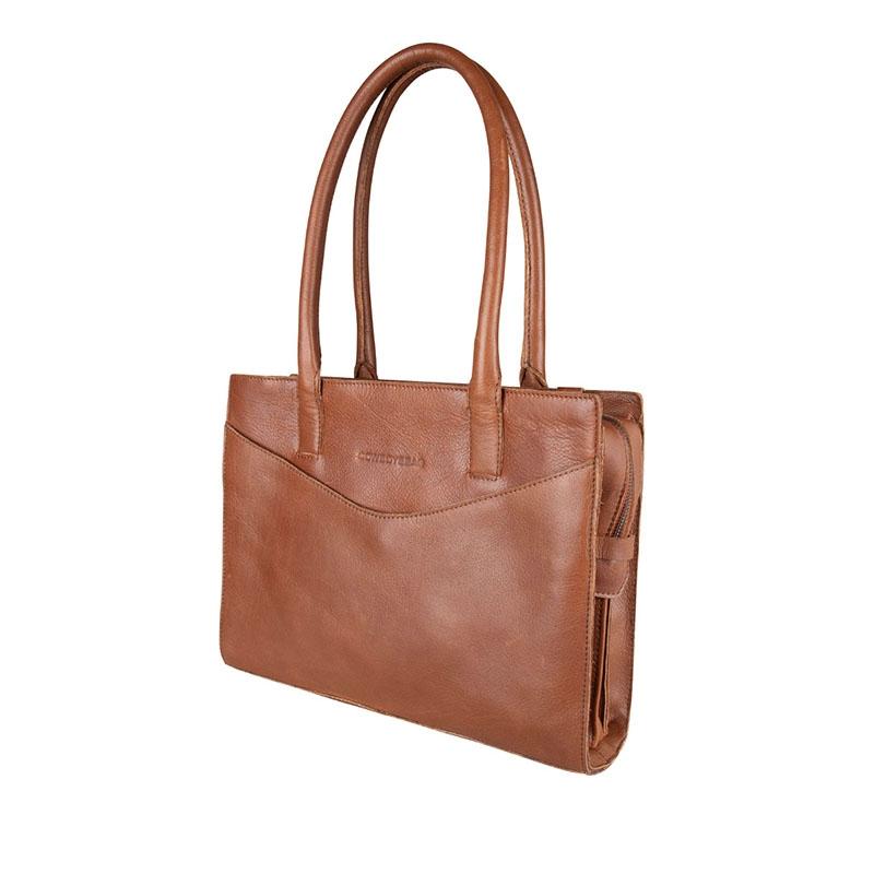 """Cowboysbag Nora Laptopbag 13"""" Tan-178351"""