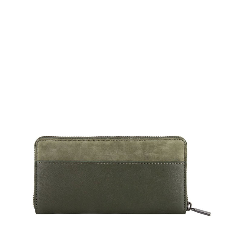 Cowboysbag Two Tone Purse Omaha Green-178124