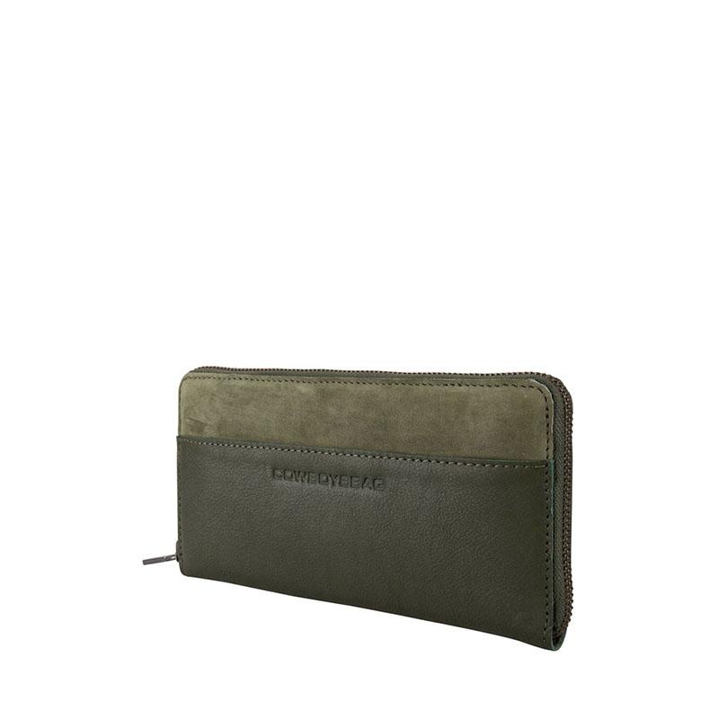 Cowboysbag Two Tone Purse Omaha Green-178123